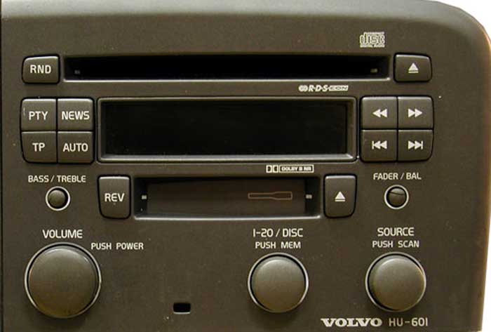 Штатная магнитола для  Volvo HU-601 фото
