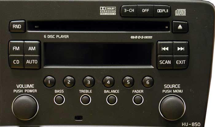 Штатная магнитола для  Volvo HU-850 фото