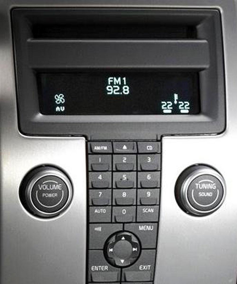 Штатная магнитола для Volvo S40, V50 (2003-2010) (1-disc CD) фото