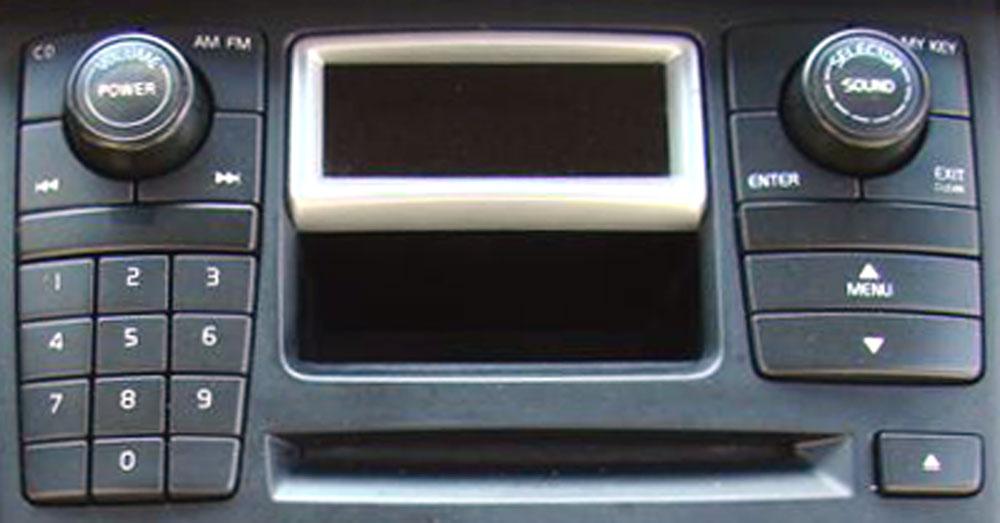 Штатная магнитола для Volvo XC90 (1CD, 6CD) (2002-2006) фото