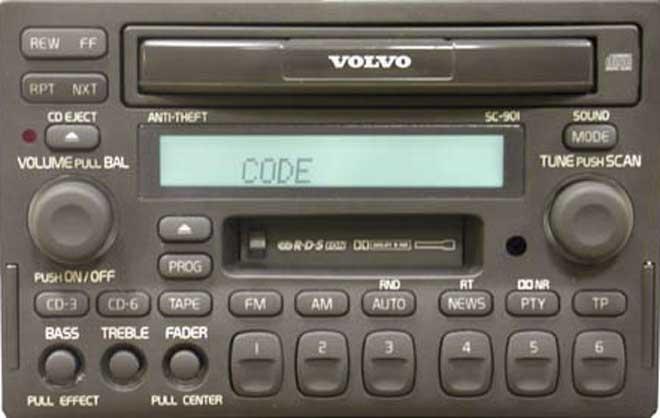 Штатная магнитола для Volvo SC-900, SC-901 фото