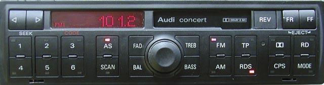 Штатная магнитола Audi A2