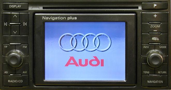 Штатная магнитола для Audi A2