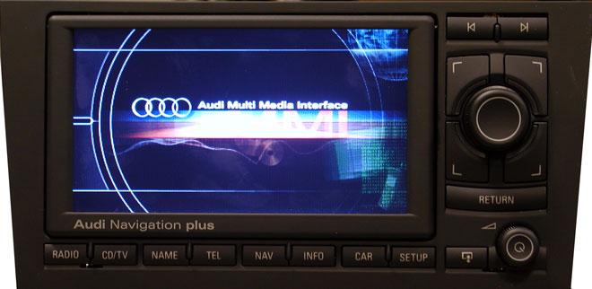 Штатная магнитола для Audi A2 Navigation Plus III