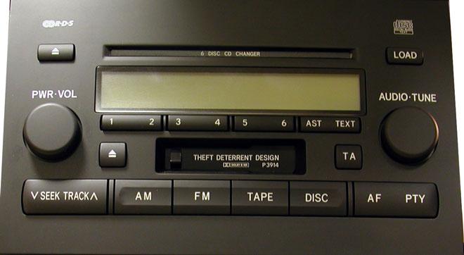 настройка звука в магнитоле toyota w58831